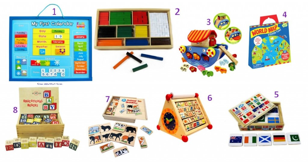Our Top Pick of Educational wooden Toys