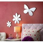 Butterfly and Daisy Mirrors