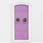 Little Fairy Door Purple