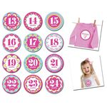 Baby Month Stickers 13-24mths