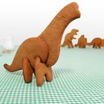 Brachiosauraus cookie cutter