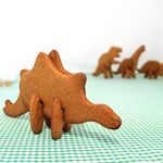 Stegosauraus cookie cutter