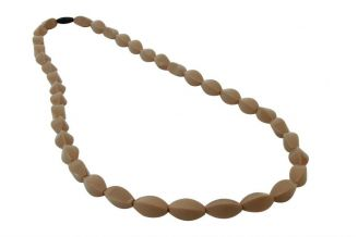 MummaBubba Tulip Bead Necklace Mocha