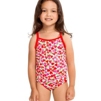 Toddler Swimsuit Strawberry Sundae