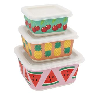 Sunnylife fruit salad snack containers