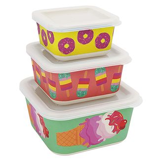 Sunnylife sweet tooth snack containers
