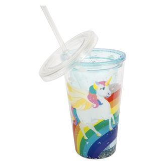 Kids drinking cup with straw