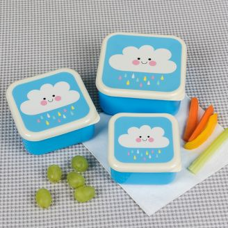 Happy Cloud Nesting Snack Containers