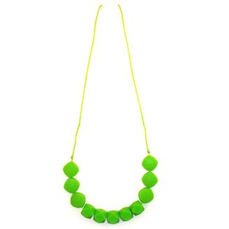 Mummy Couture Graces Geometric Lime