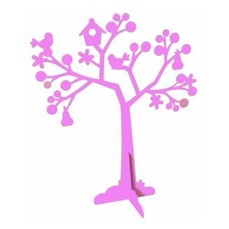 Metal Jewelley Tree Purple