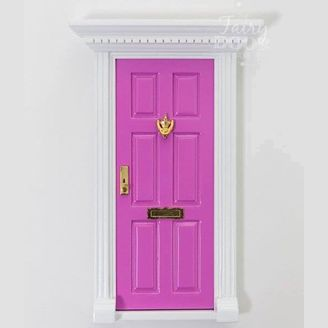 Bubblegum Pink  Fairy Door