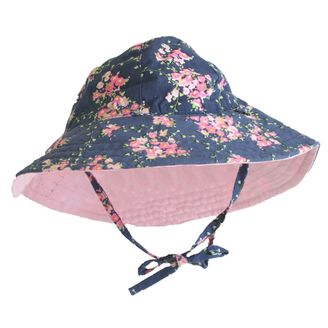Alimrose Baby Reversible Sun Hat Pink Blosson