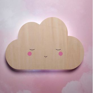 Little Dreams Silhouette Night light Cloud