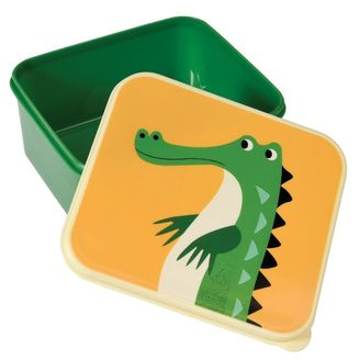 Crocodle Snack Container
