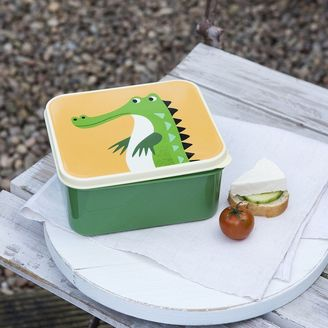Green Children's Lunch box