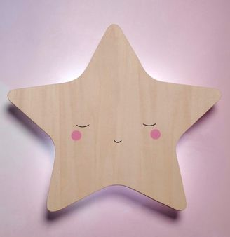 Little Dreams Silhouette Night light Star